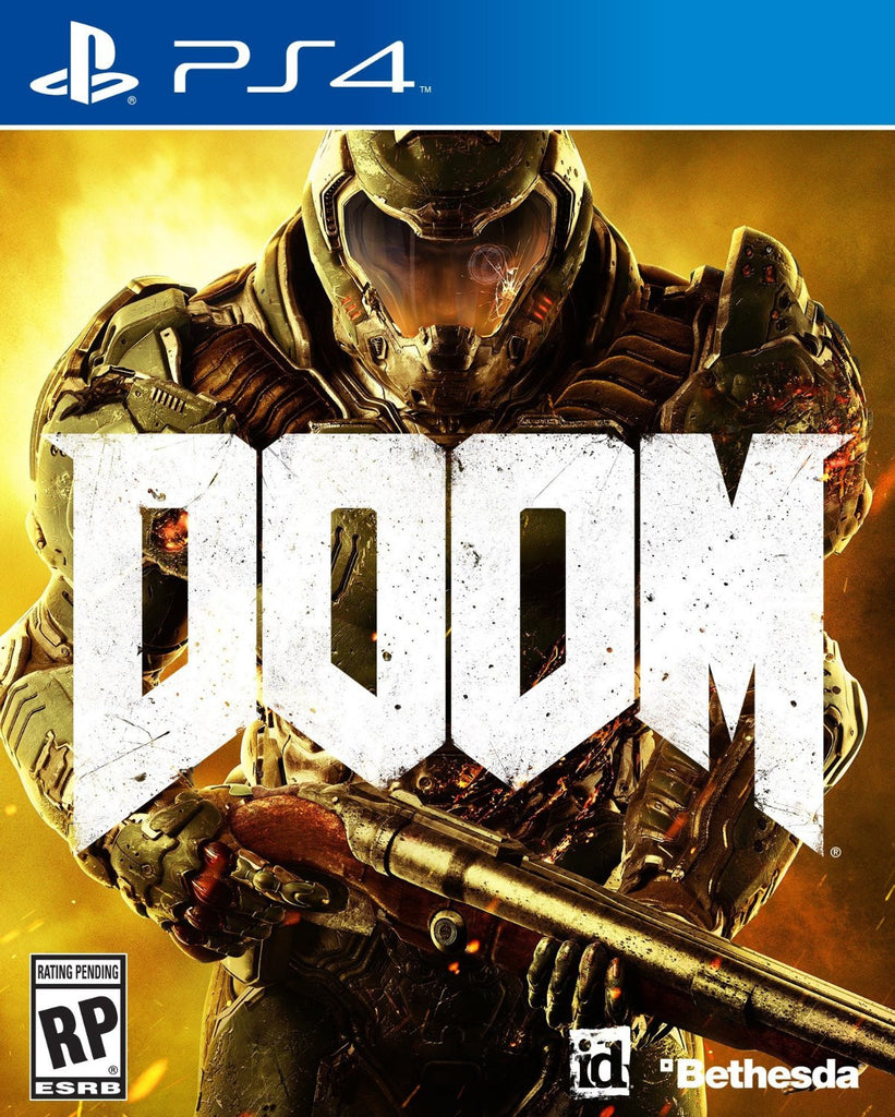 DOOM For PlayStation 4 (Physical Disc)