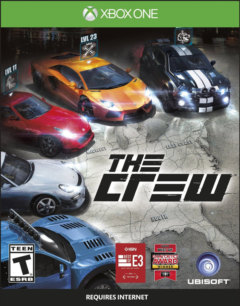 The Crew For Xbox One (Physical Disc)
