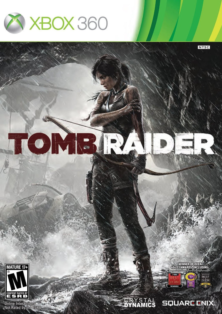 Tomb Raider For Xbox 360 (Physical Disc)