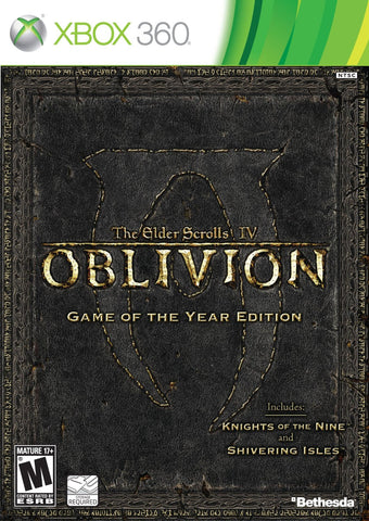 The Elder Scrolls IV: Oblivion - Game of the Year Edition For Xbox 360 (Physical Disc)