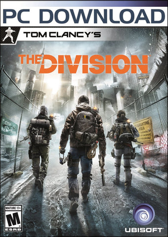 Tom Clancy's The Division Windows PC Game Download Uplay CD-Key Global