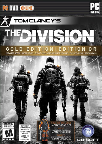 Tom Clancy's The Division Gold Edition For PC (Physical Disc)