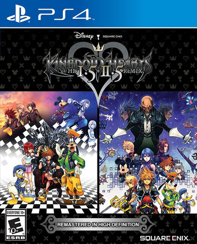 Kingdom Hearts HD 1.5 + 2.5 ReMIX Pre-Order For PlayStation 4 (Physical Disc)