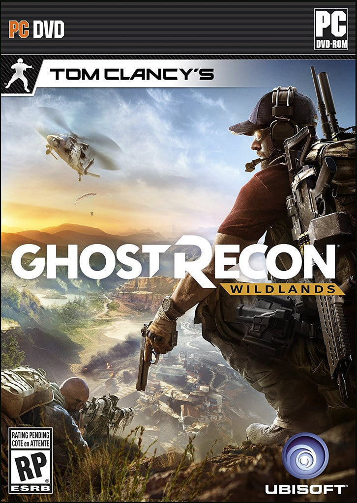 Tom Clancy's Ghost Recon Wildlands For PC (Physical Disc)