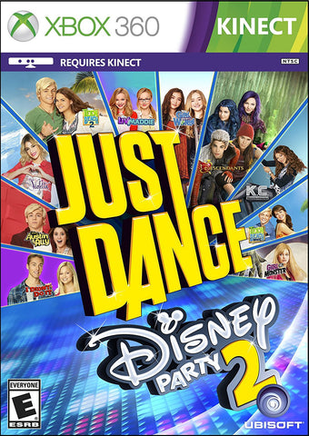 Just Dance Disney Party 2 For Xbox 360 (Physical Disc)