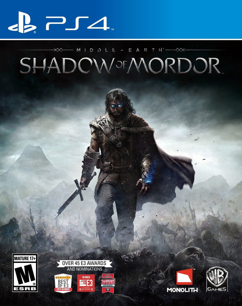 Middle Earth: Shadow of Mordor For PlayStation 4 (Physical Disc)