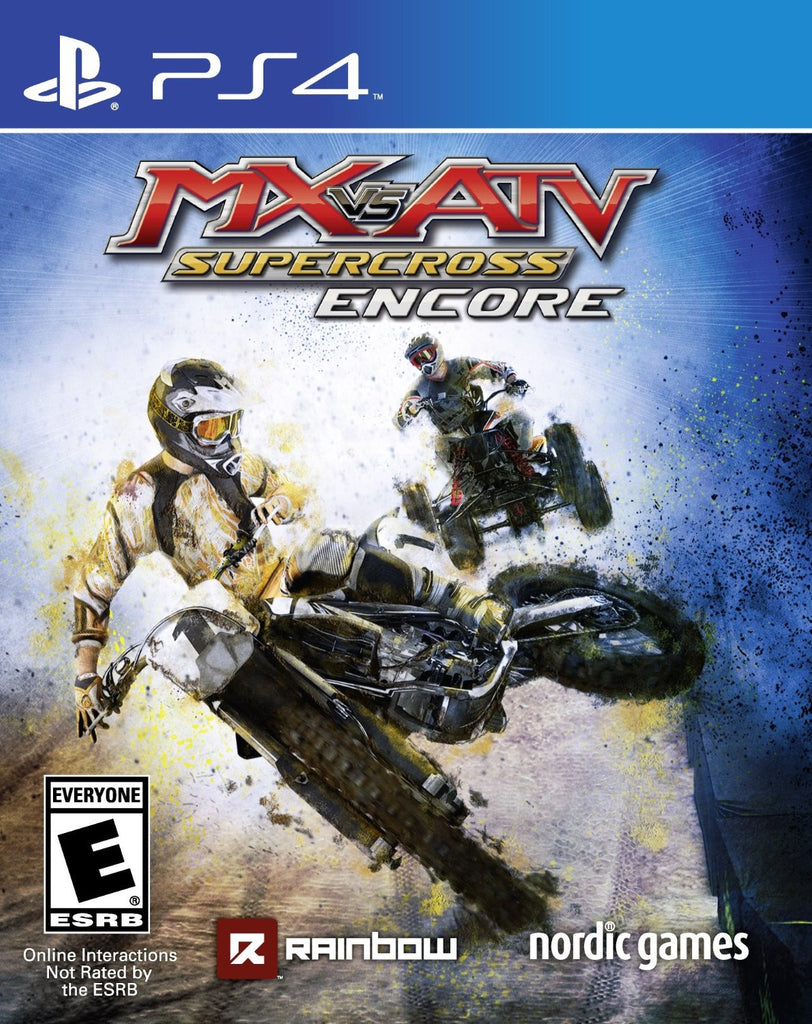 MX vs. ATV: Supercross Encore Edition For PlayStation 4 (Physical Disc)