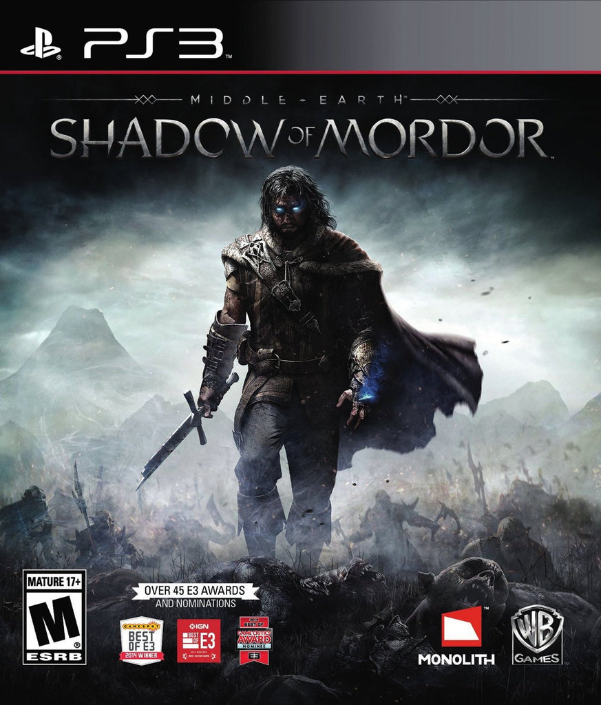 Middle Earth: Shadow of Mordor For PlayStation 3 (Physical Disc)
