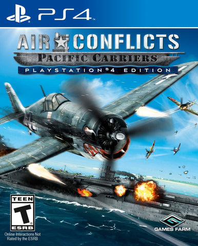 Air Conflicts Pacific Carriers For PlayStation 4 (Physical Disc)