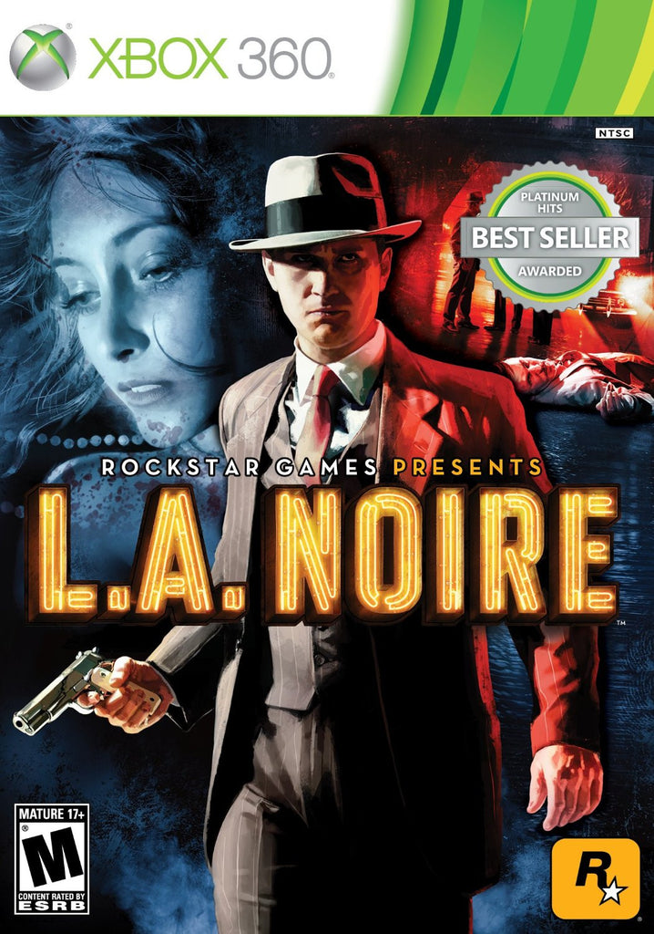 L. A. Noire For Xbox 360 (Physical Disc)
