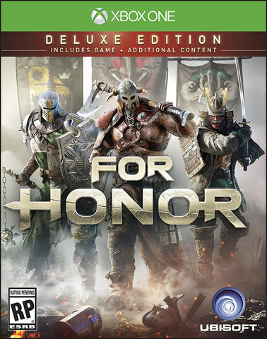 For Honor: Deluxe Edition Pre-Order For Xbox One (Physical Disc)