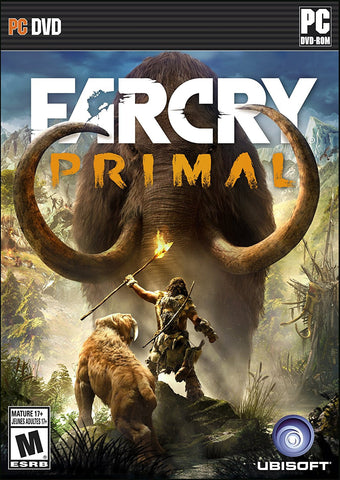 Far Cry Primal For PC (Physical Disc)