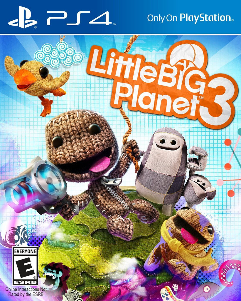 Little Big Planet 3 For PlayStation 4 (Physical Disc)