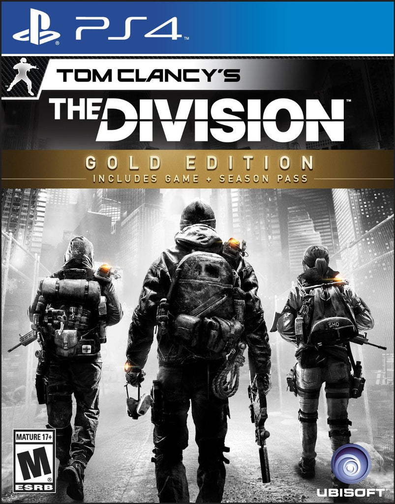 Tom Clancy's The Division Gold Edition For PlayStation 4 (Physical Disc)