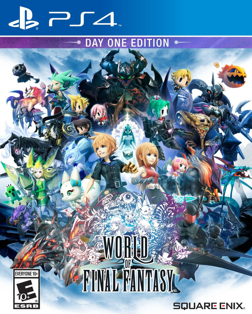 World of Final Fantasy For PlayStation 4 (Physical Disc)