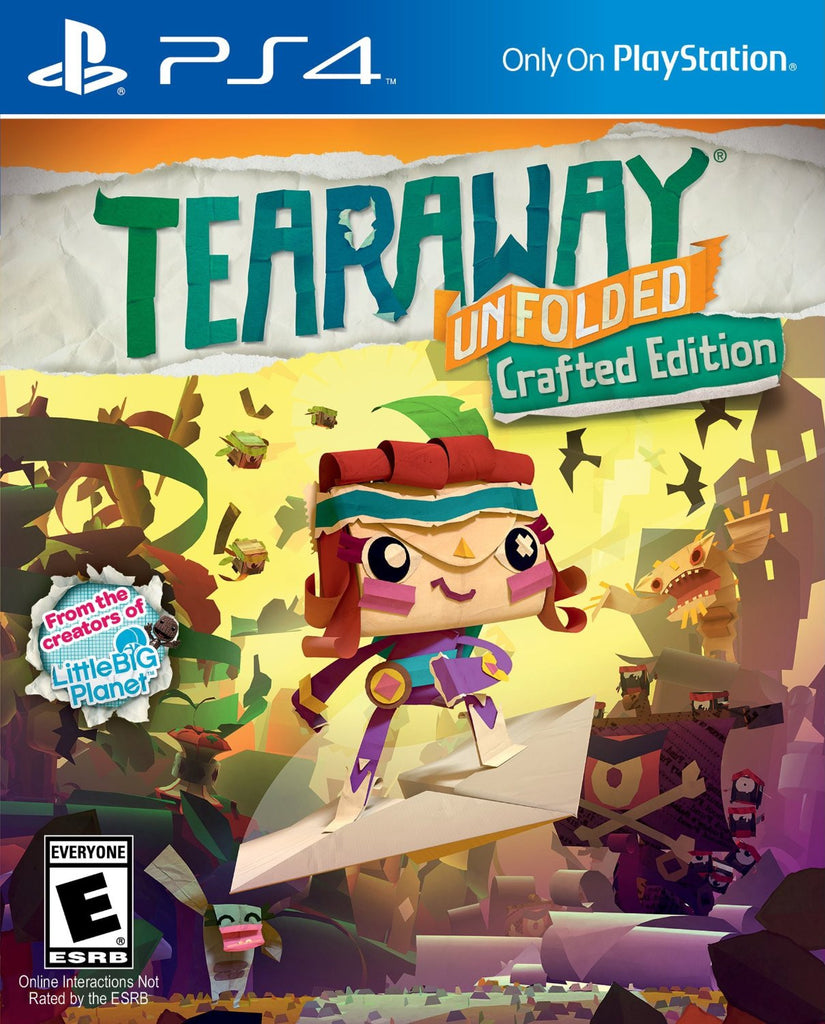 Tearaway Unfolded For PlayStation 4 (Physical Disc)