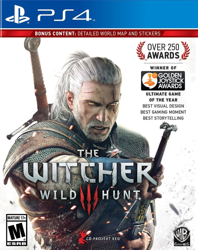 The Witcher 3: Wild Hunt For PlayStation 4 (Physical Disc)