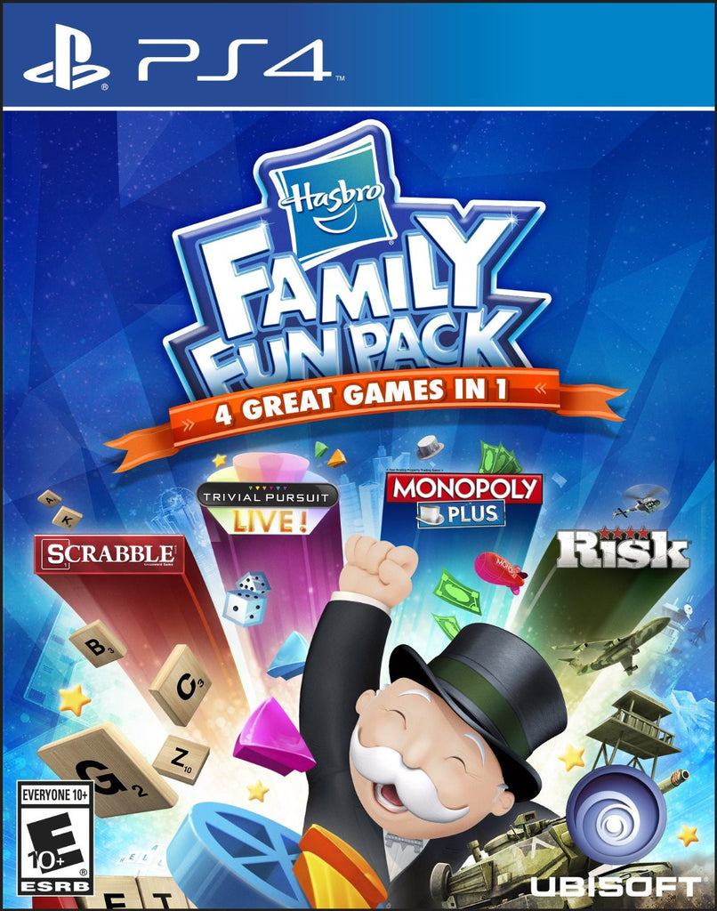 Hasbro Family Fun Pack For PlayStation 4 (Physical Disc)