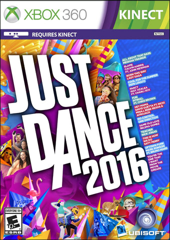 Just Dance 2016 For Xbox 360 (Physical Disc)