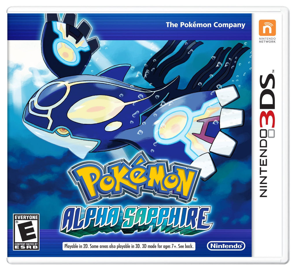 Pokémon Alpha Sapphire For 3DS (Physical Cartridge)
