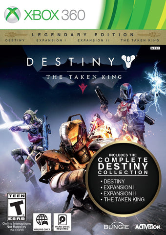 Destiny: The Taken King - Legendary Edition For Xbox 360 (Physical Disc)