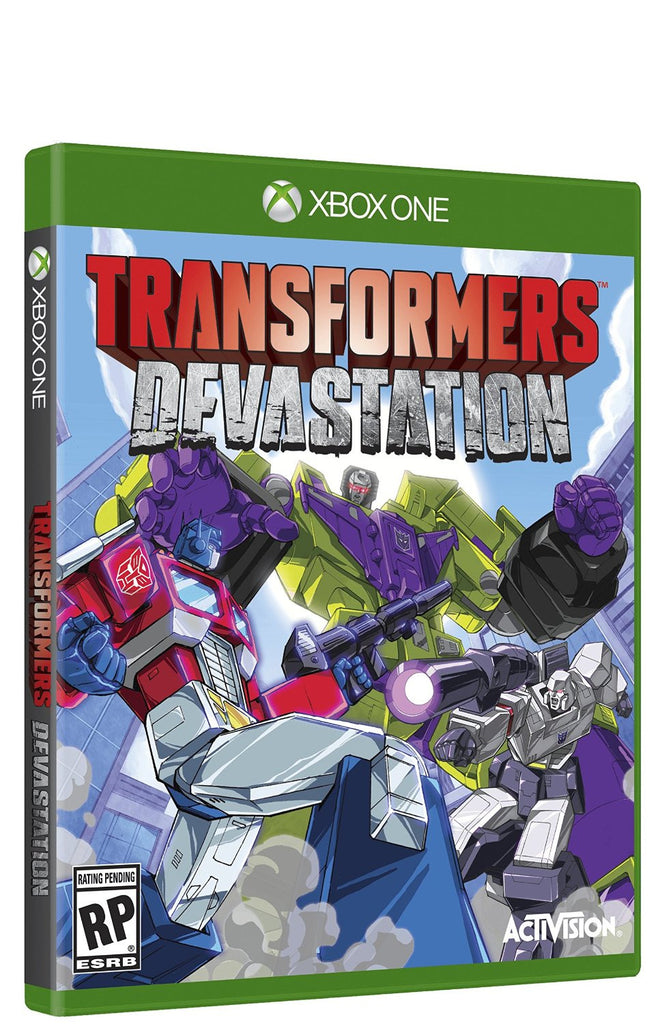 Transformers Devastation For Xbox One (Physical Disc)