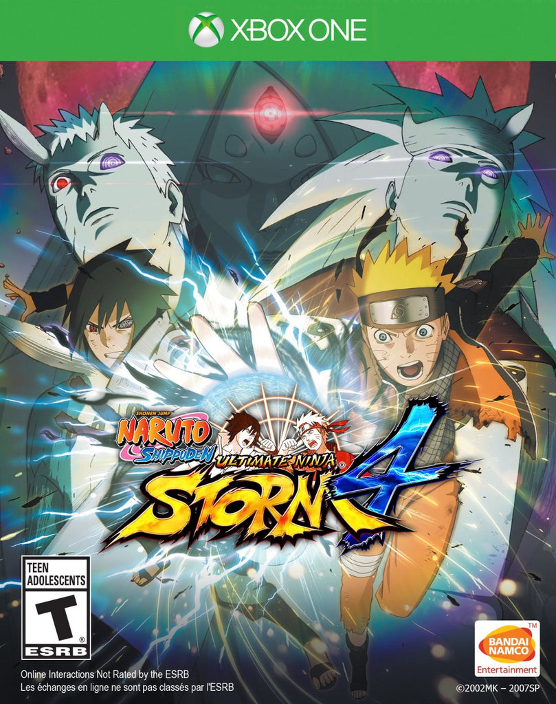 NARUTO SHIPPUDEN: Ultimate Ninja STORM 4 For Xbox One (Physical Disc)