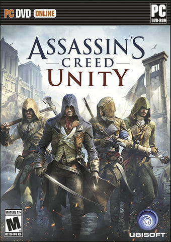 Assassin's Creed Unity For PC (Physical Disc)