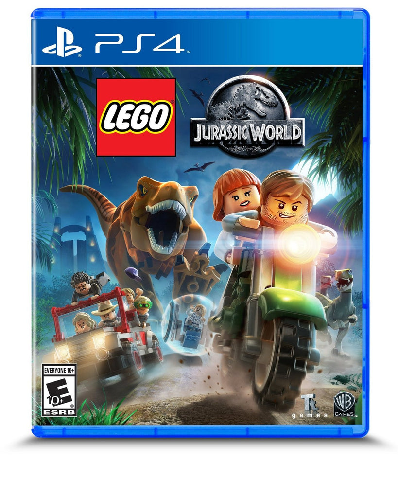 LEGO Jurassic World For PlayStation 4 (Physical Disc)