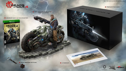 Gears Of War 4 Collector's Edition For Xbox One (Physical Disc)