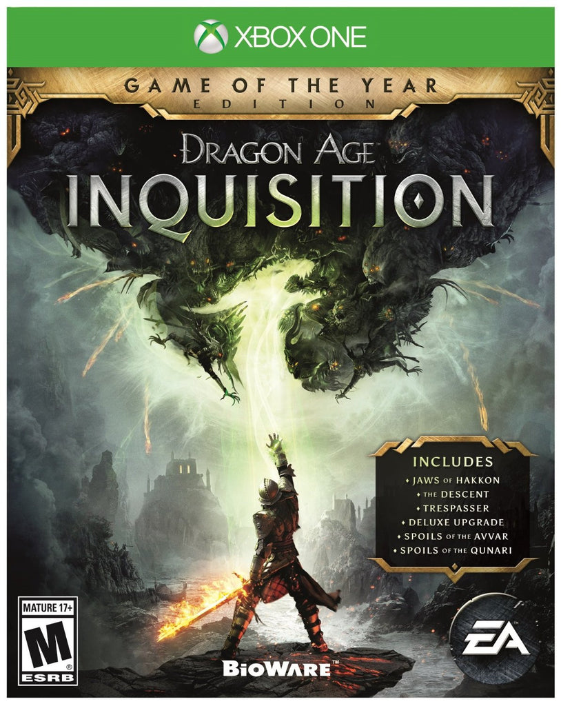 Dragon Age Inquisition - Game of the Year Edition For Xbox One (Physical Disc)