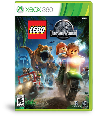 LEGO Jurassic World For Xbox 360 (Physical Disc)