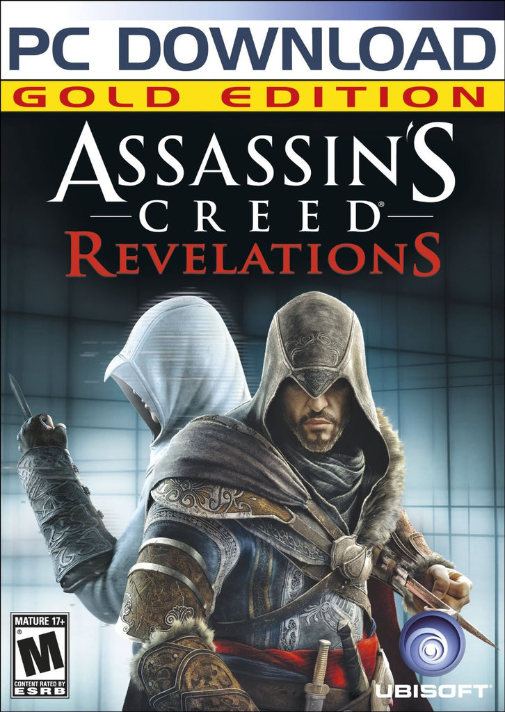 Assassin's Creed: Revelations Gold Edition Windows PC Game Download Steam CD-Key Global