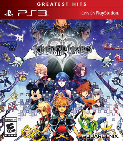 Kingdom Hearts HD 2.5 ReMIX For PlayStation 3 (Physical Disc)