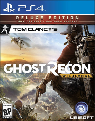 Tom Clancy's Ghost Recon Wildlands Deluxe Edition For PlayStation 4 (Physical Disc)