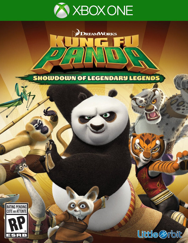 Kung Fu Panda: Showdown of Legendary Legends For Xbox One (Physical Disc)