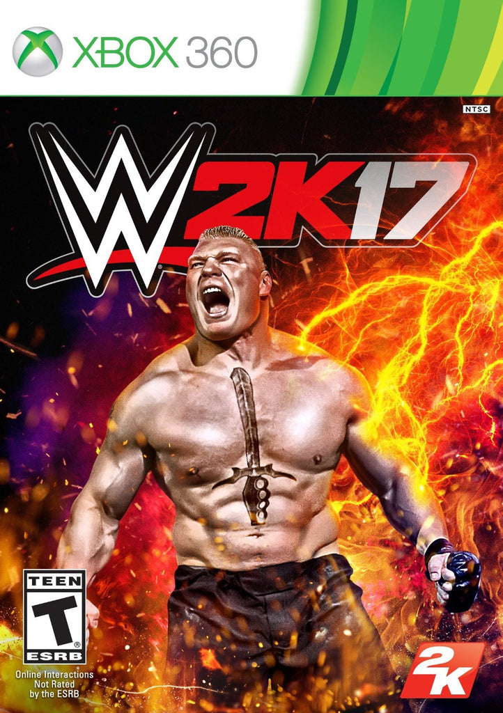 WWE 2K17 For Xbox 360 (Physical Disc)