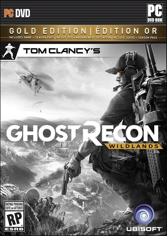 Tom Clancy's Ghost Recon Wildlands Gold Edition For PC (Physical Disc)