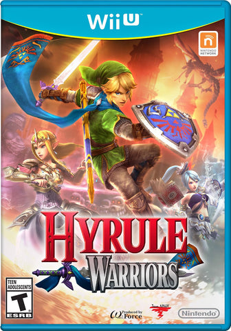 Hyrule Warriors For Wii U (Physical Disc)