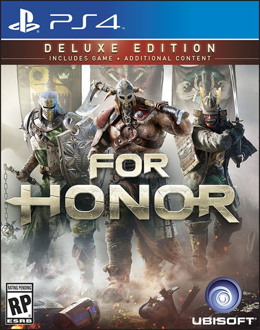 For Honor: Deluxe Edition Pre-Order For PlayStation 4 (Physical Disc)
