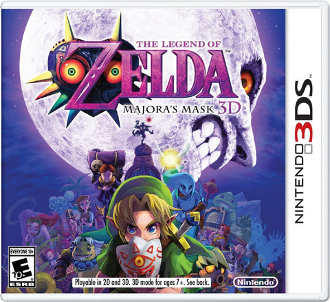 The Legend of Zelda: Majora's Mask 3D For 3DS (Physical Cartridge)
