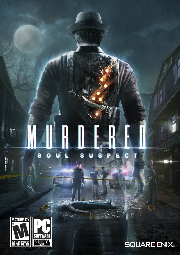 Murdered: Soul Suspect Windows PC Game Download Steam CD-Key Global
