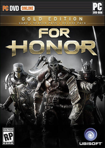 For Honor: Gold Edition For PC (Physical Disc)