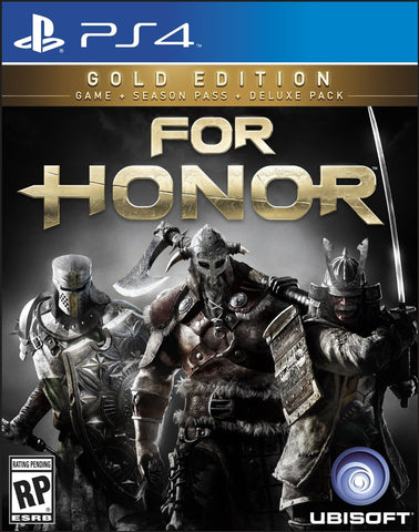 For Honor: Gold Edition Pre-Order For PlayStation 4 (Physical Disc)
