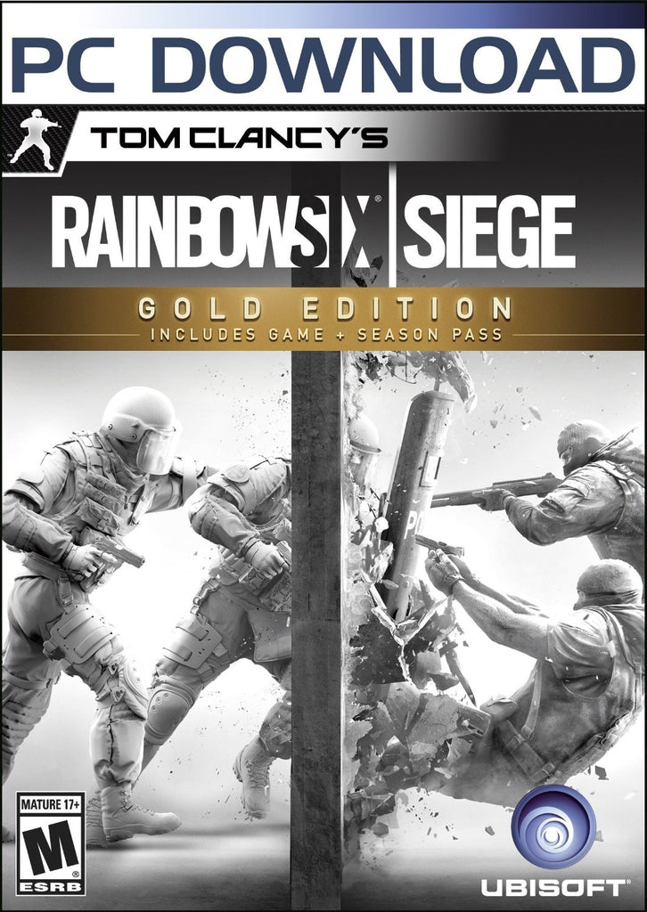 Tom Clancy's Rainbow Six Siege-Gold Edition Windows PC Game Download Uplay CD-Key Global