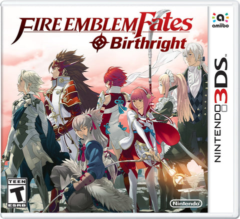 Fire Emblem Fates: Birthright For 3DS (Physical Cartridge)