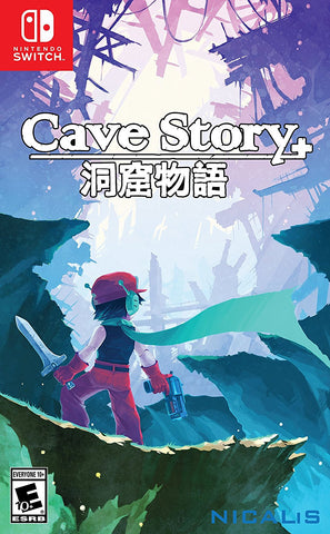 Cave Story+ Pre-Order For Switch (Physical Cartridge)