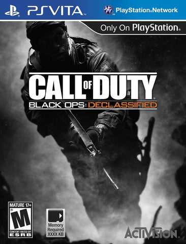 Call of Duty: Black Ops - Declassified For PSVita (Physical Cartridge)