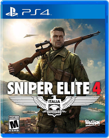Sniper Elite 4 For PlayStation 4 (Physical Disc)