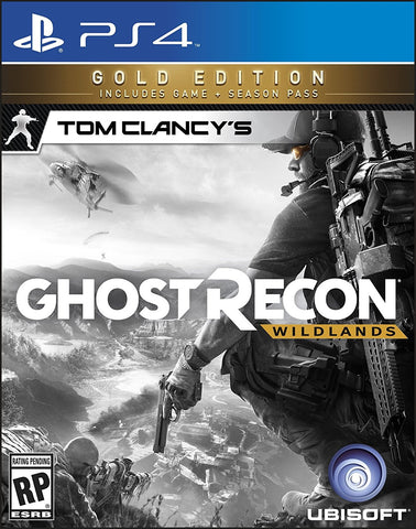 Tom Clancy's Ghost Recon Wildlands Gold Edition For PlayStation 4 (Physical Disc)